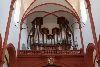 orgel in basilia pruem 2019
